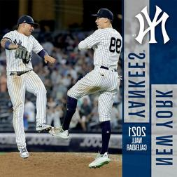 New York Yankees 2021 12x12 Team Wall Calendar