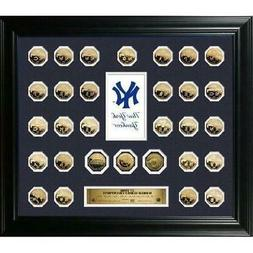 New York Yankees 27 Time World Series Champions 24KT Gold 30