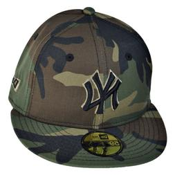 New Era New York Yankees 59Fifty Men's Fitted Hat Cap Camo-B