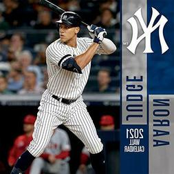 New York Yankees Aaron Judge 2021 12x12 Player Wall Calendar