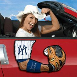 New York Yankees ARMagnets - Realistic Arm Magnets for your