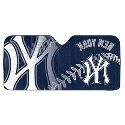 New York Yankees Auto Sun Shade , MLB Licensed Authentic Win