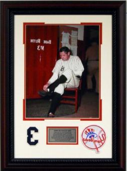 New York Yankees Babe Ruth Bows Out Ruth Last Game Deluxe Fr