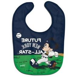 New York Yankees Baby Bib Disney Mickey Mouse Feeding Infant