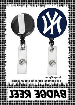 New York Yankees - Badge Reel - Choose From 12 Designs