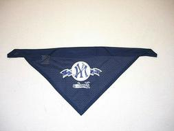 NEW YORK YANKEES BASEBALL PET DOG MESH BANDANA, MLB LICENSED