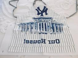 New York Yankees BBQ Apron from SPORTS CRATE Brand New-FREE