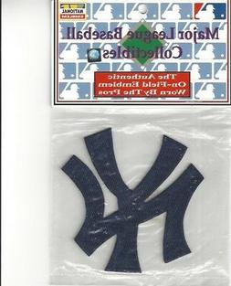 New York Yankees Blue NY Sleeve Patch Official MLB Jersey Tr