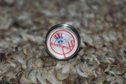 new york yankees brooch pin size 18mm