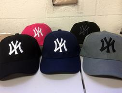 New York Yankees Cap Hat Embroidered NY NYC Men Adjustable C