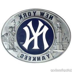 New York Yankees Commemorative Edition Buckle, MLB Licensed