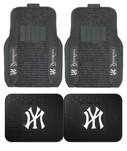 New York Yankees Deluxe Auto Floor Mats - Car, Truck, SUV