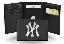 New York Yankees Embroidery Trifold Wallet