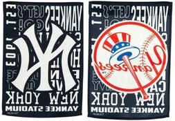 New York Yankees Fan Rules Premium 2-Sided 28x44 Banner Outd