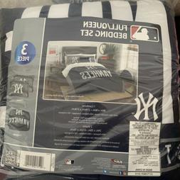 New York Yankees Full/Queen Bedding  OFFICIAL MLB