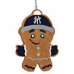 new york yankees gingerbread man christmas tree