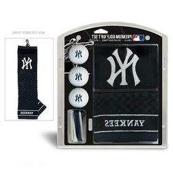 New York Yankees Golf Gift Set with Embroidered Towel  Ball
