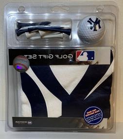 NEW YORK YANKEES- Golf MLB Gift Set 1 Ball-- Sport Towel-8 T