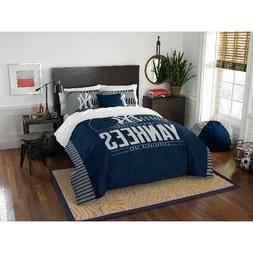 "MLB New York Yankees ""Grand Slam"" Bedding Comforter Set Full"