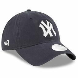 New York Yankees Hat New Era Women's Team Glisten  Adjustabl