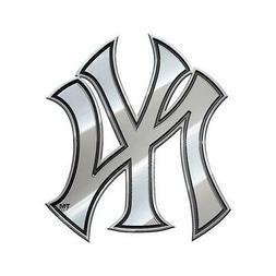 New York Yankees Heavy Duty Metal Auto Emblem  MLB Car Truck