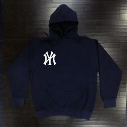 New York Yankees Hooded Sweat Shirt Cotton Hoodie Adult Swea