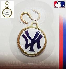 New York YANKEES ID TAG MLB Instant Charm & S-hook New Pet D