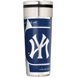 New York Yankees Logo Travel Mug Tumbler Stainless Steel 22