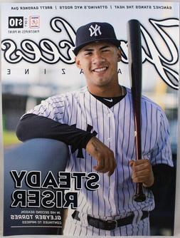 New York Yankees Magazine May 2019 Official Progam NYY Gleyb
