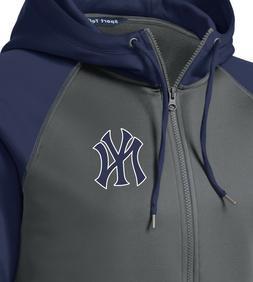 New York Yankees Men's Hoodie Sweatshirt Full Zip Hooded Jac
