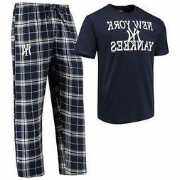 New York Yankees Men's MLB Duo Shirt And Pants Pajama Sleepw