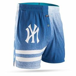 STANCE NEW YORK YANKEES Mercato Fitted Boxer Underwear NAVY