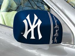 New York Yankees Mirror Cover 2 Pack- Small  MLB Auto Elasti