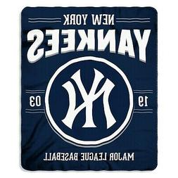 "New York Yankees MLB Northwest 50""x60"" Southpaw Fleece Throw"