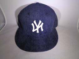 New York Yankees MLB New Era 9FIFTY Corduroy Snapback Cap Ha