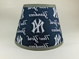 New York Yankees MLB Baseball Cotton Fabric Sports Lamp Shad