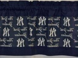 New York Yankees MLB Baseball Custom Valance Panels Choose: