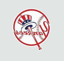 New York Yankees MLB Baseball Full Color Logo Sports Decal S