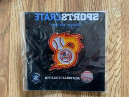 New York Yankees MLB Collectible Pin Sports Crate Bringin th