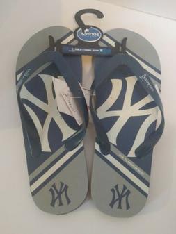 New York Yankees MLB Flip Flops Medium Unisex Women 9-10 / M