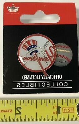 new york yankees mlb logo collector lapel