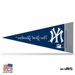 """New York Yankees MLB Mini Pennant 9""""x4"""",New, Felt, Made in U"""
