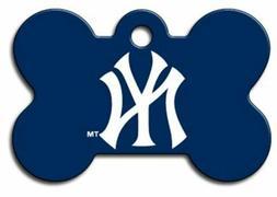 new york yankees mlb pet id tag