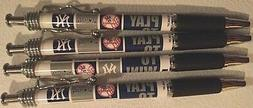 NEW YORK YANKEES MLB - PLay To Win! Ink Pens Set of 4 -FREE