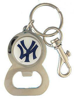 New York Yankees MLB Raised Glossy Logo Bottle Opener Key Ch