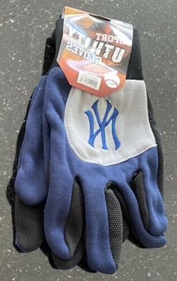 NEW YORK YANKEES : MLB Sport Utility Gloves Navy Black BRAND