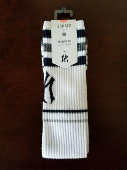 New York Yankees Stance MLB Women's Tall Boot Tube Socks M 8