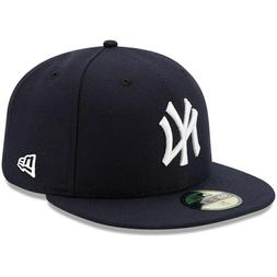 NEW YORK YANKEES MLB YOUTH ON FIELD NEW ERA 59FIFTY FITTED N
