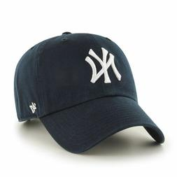 New York Yankees '47 Brand Navy Blue Clean Up Adjustable Dad