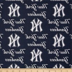 New York Yankees Navy White Baseball Sports Handmade Valance